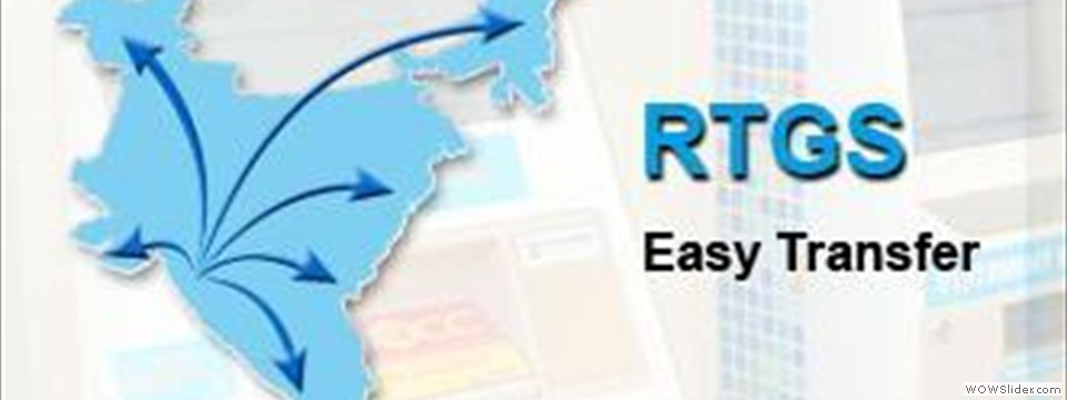 rtgs Read more about what are neft and rtgs on business standard national electronic fund transfer (neft) and real time gross settlement (rtgs) allow individuals.